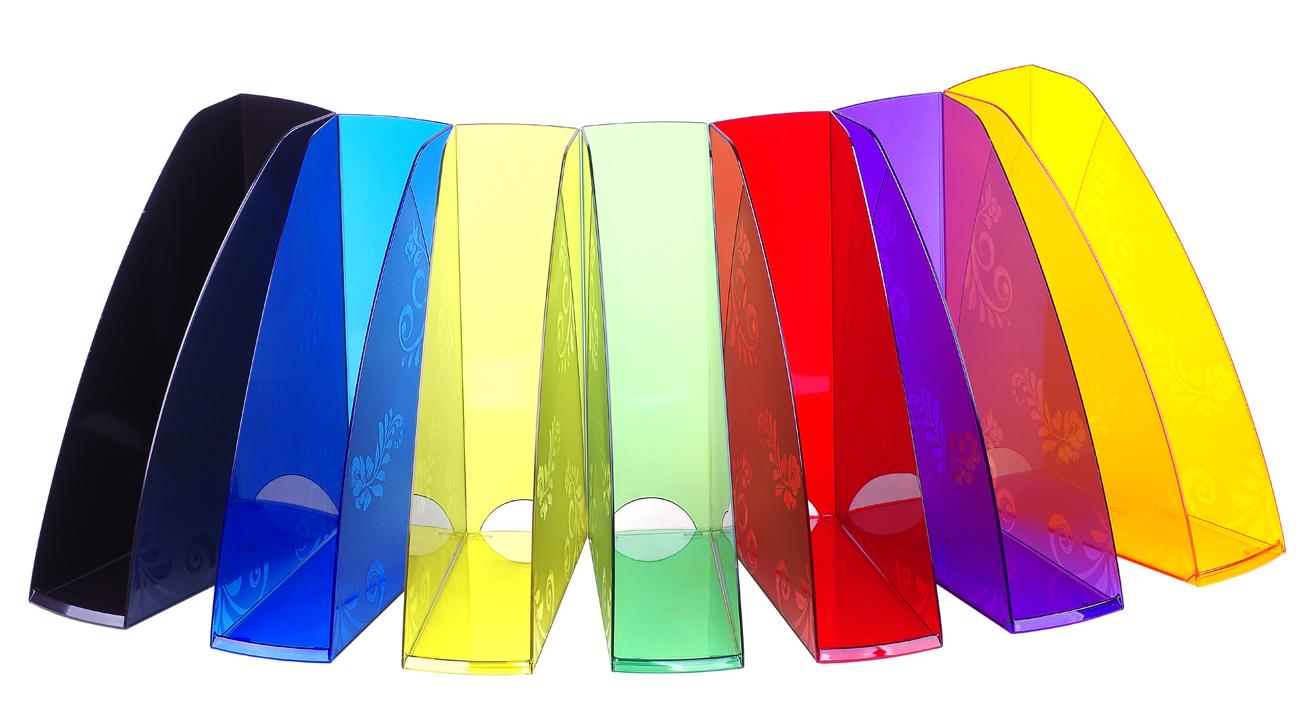 Лоток для бумаг вертикальный цвета в ассортименте